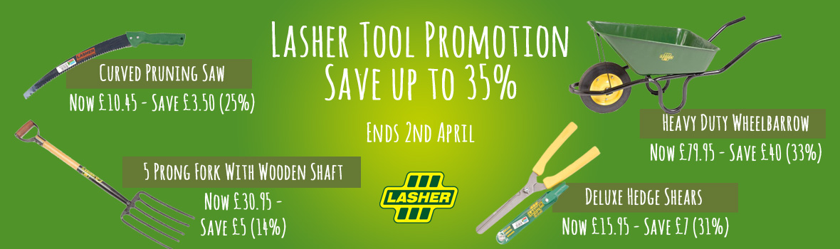 Lasher Tool Promotion