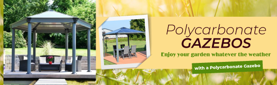 Polycarbonate Gazebos