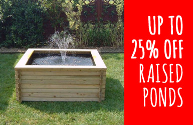 Raised Ponds Sale