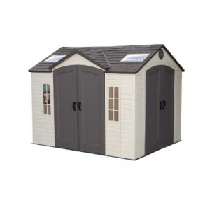 Lifetime 10ft x 8ft Dual Entrance Shed