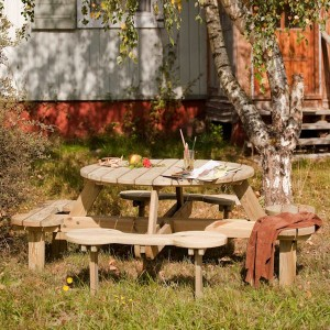 Orbit 1100 Round Picnic Table
