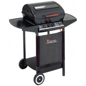 2 Burner Gas Trolley Barbecue