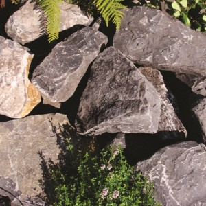 Black Mountain Rockery Stone: 80 Pieces