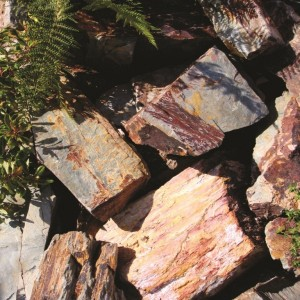 Rustic Slate Rockery Stone: 80 Pieces