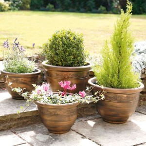 Antique Effect Planters