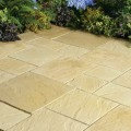 Abbey York Gold Patio Paving Kit