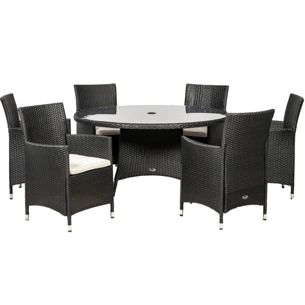 Cannes 6 Seater Carver Dining Set
