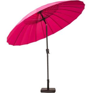 2.7m Pink Shanghai Crank and Tilt Parasol