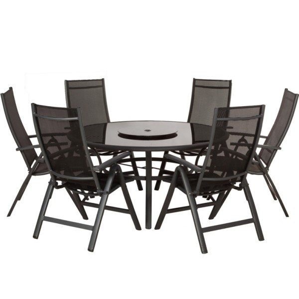 Sorrento 6 Seater Recliner Dining Set