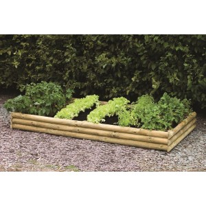 Half Log Raised Bed Kit