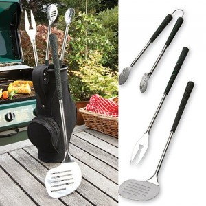 Barbecue Golf Bag Tool Kit