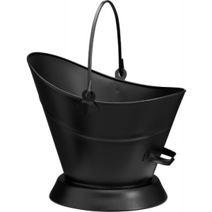 Black Waterloo Coal Bucket