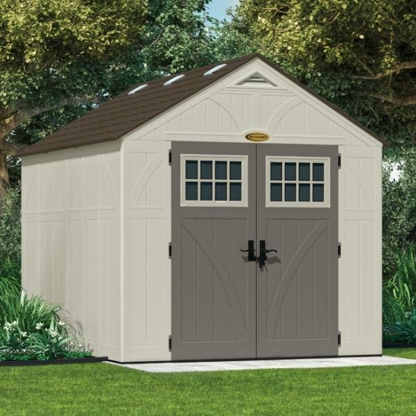 Tremont 8ft X 10ft Double Door Plastic Shed