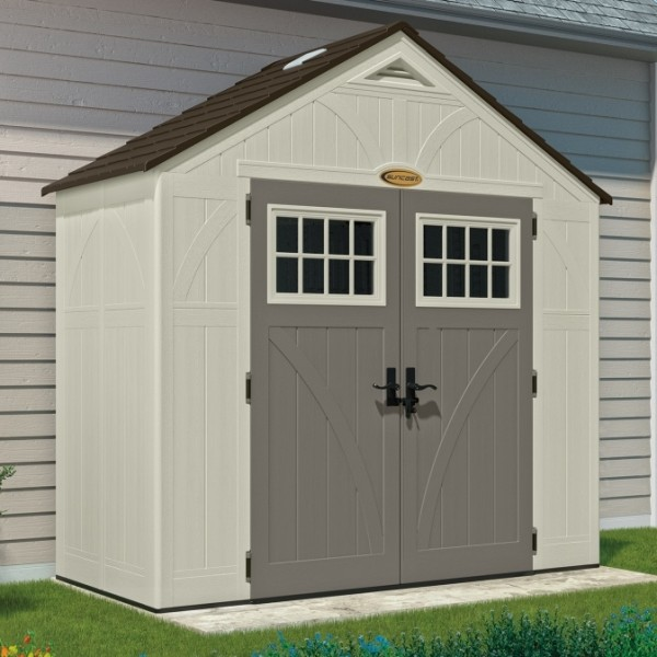Tremont 8ft X 4ft Double Door Plastic Shed