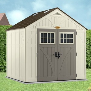Tremont 8ft x 7ft Double Door Plastic Shed