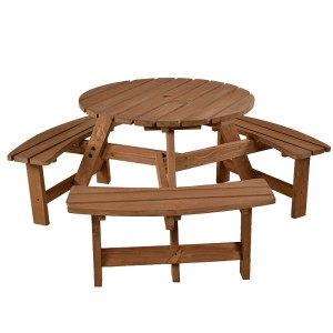 Brentwood Round Picnic Table