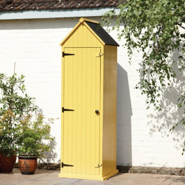 Yellow Brighton Tool Shed
