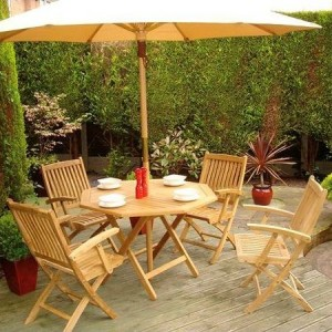 Brooklyn Teak Patio Set