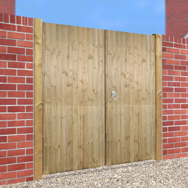 Made to Measure Carlton Tall Double Gate