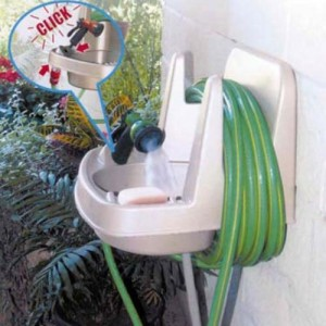 Garden Sink and Hose Hanger