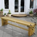 Double Sleeper Bench 180cm