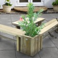 Sleeper Planter / Table