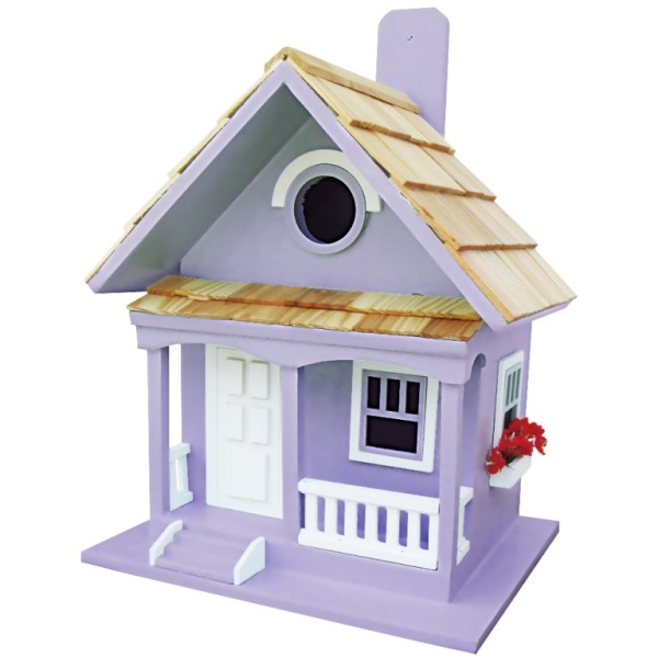 Lilac Cottage Bird House
