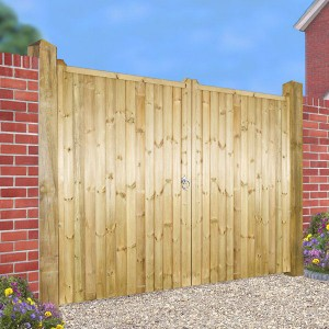 Made to Measure Drayton Flat Top Estate Gate