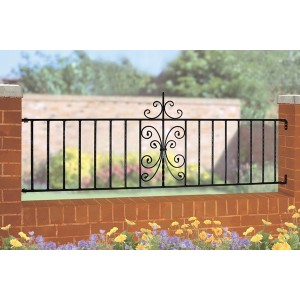 English Rose Galvanised Railings