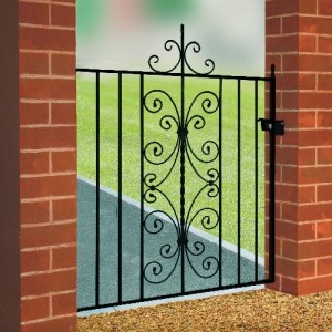 English Rose Galvanised Single Gate