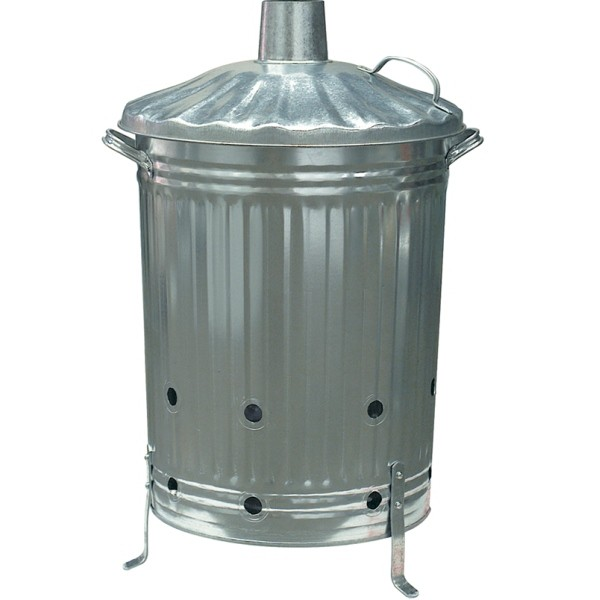 Galvanised Tapered Garden Incinerator