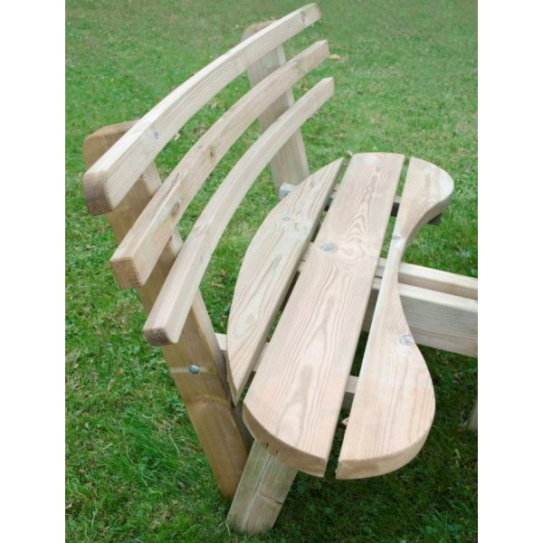 Circular Picnic Table With Backrests