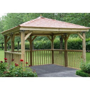 3.5m Square Gazebo without Base