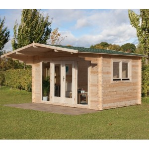 Abberley Log Cabin 4m x 3m