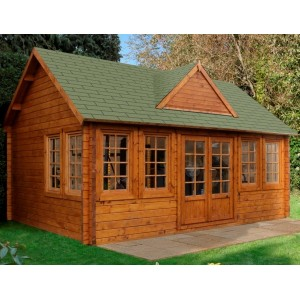 Cheviot Log Cabin 5.5m x 4.0m