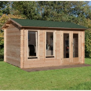 Chiltern Log Cabin 4m x 3m