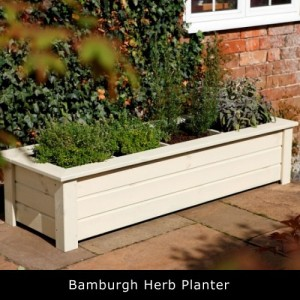 Bamburgh Herb Planter