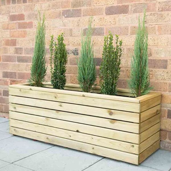 Linear Long Planter