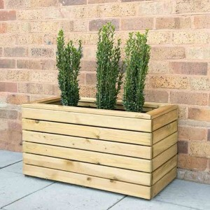 Linear Double Planter