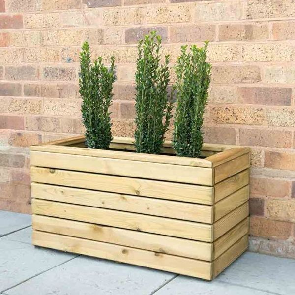 Linear Double Planter