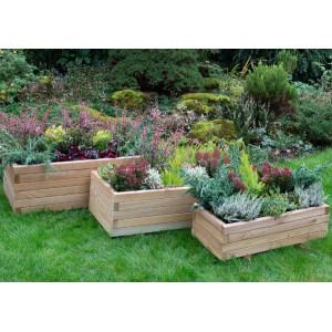 Durham Planters - Set of 3
