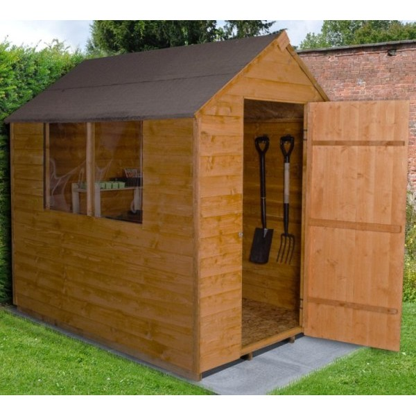 Overlap Dip Treated 5 x 7 Apex Shed