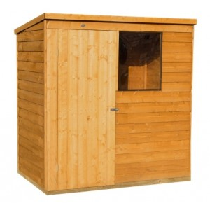 Overlap 6ft x 4ft Pent Shed