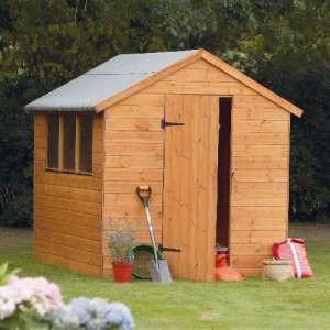 Forest 8 x 6 Shiplap Apex Shed