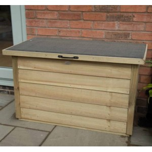 Pressure Treated Wooden Garden Storage Box