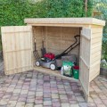 Pressure Treated Large Pent Garden Store