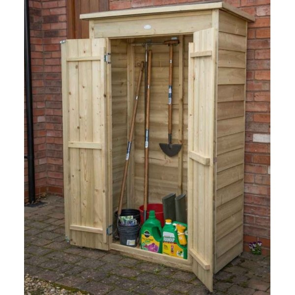 Pressure Treated Tall Pent Garden Store