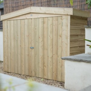 Pressure Treated Large Apex Outdoor Store