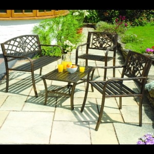 Bronze Patio Set
