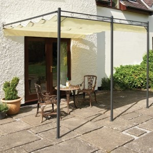 Retractable Roof Gazebo